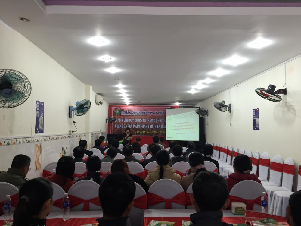 Thiên Nông tổ chức Hội thảo Khách hàng tại huyện Nông Cống