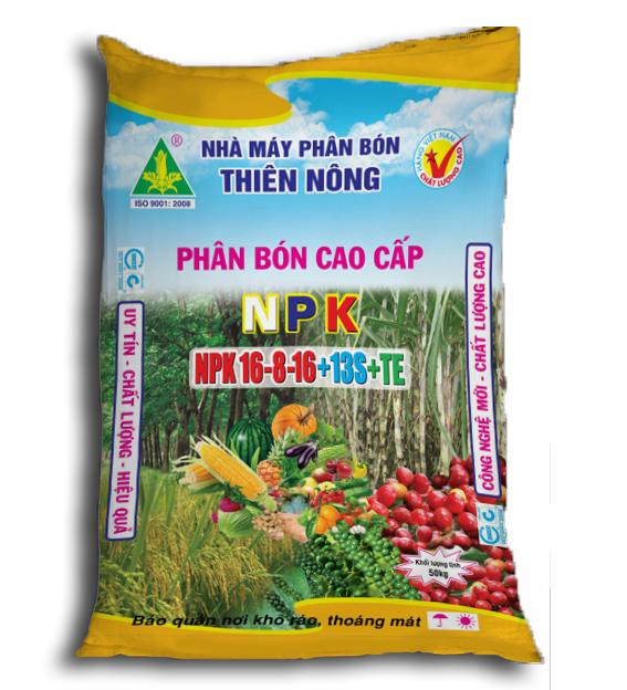 Phân bón Thiên Nông - NPK 16-8-16+13S+TE