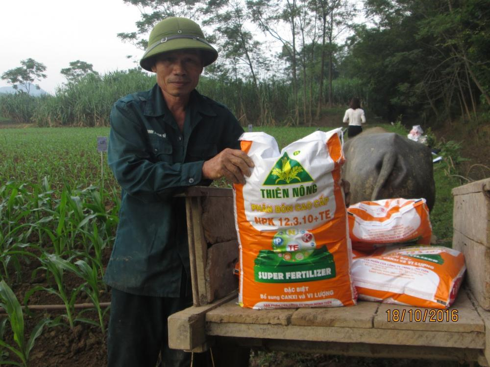 Nghiên cứu phân bón Thiên Nông chuyên cho cây ngô