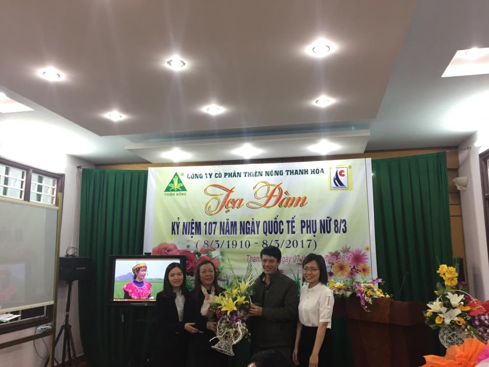 Công ty Thiên Nông và Hải Châu tổ chức tọa đàm kỉ niệm 107 năm ngày Quốc Tế phụ nữ 8/3