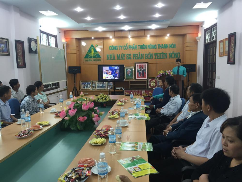 Thiên Nông tổ chức Hội nghị gặp mặt Khách hàng huyện Nông Cống