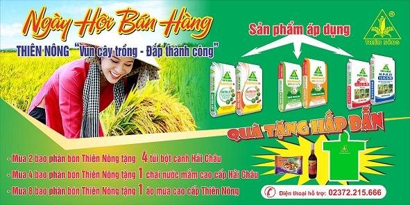 Ngày hội bán hàng Thiên Nông - Tưng bừng khắp vùng quê Thanh Hóa
