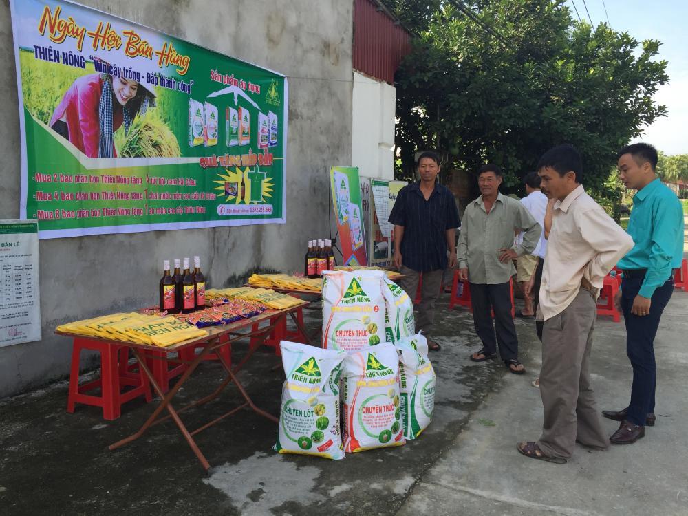 Ngày hội Thiên Nông - Niềm vui trên những nẻo đường quê huyện Nông Cống, tỉnh Thanh Hóa