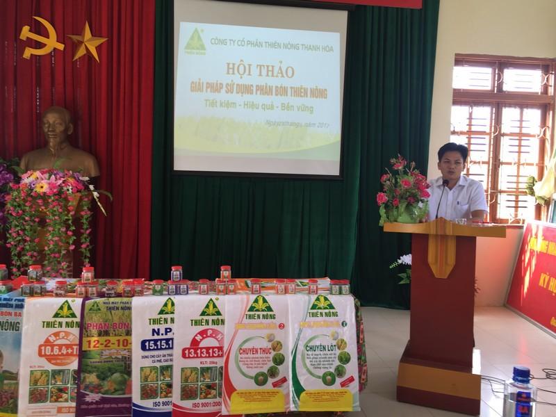 Thiên Nông tổ chức Hội thảo chuyển giao khoa học kỹ thuật tại huyện Phù Yên, Sơn La