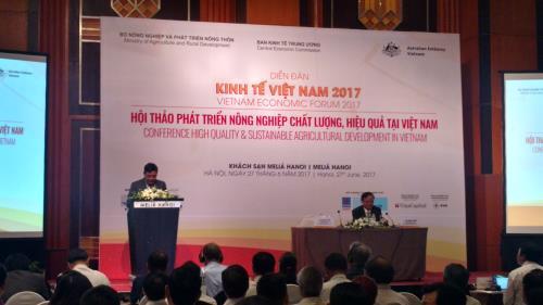 Phát triển nông nghiệp Việt Nam chất lượng, hiệu quả