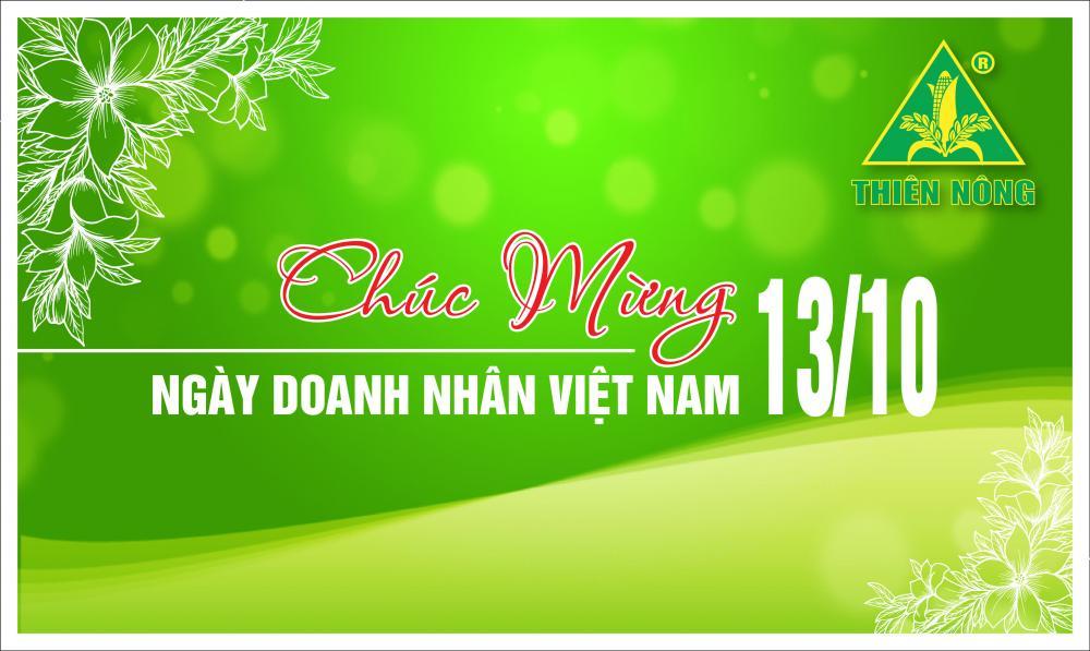 Chào mừng Ngày doanh nhân Việt Nam 13/10/2017