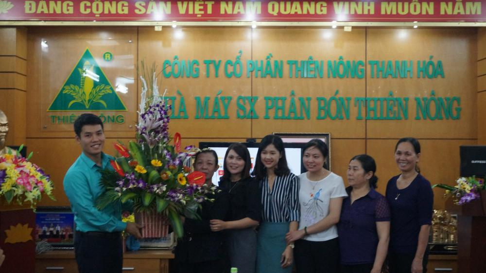 Tọa đàm 20/10 kỉ niệm 87 năm ngày thành lập Hội liên hiệp phụ nữ Việt Nam tại Công ty Thiên Nông
